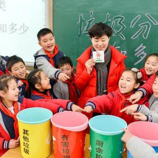 Provincia china vincula separación de residuos con registro de crédito