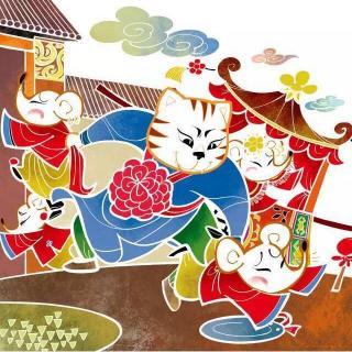 童手绘春节