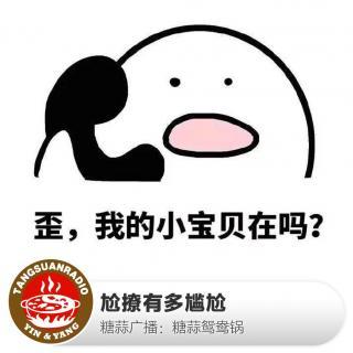 糖蒜鸳鸯锅:尬撩有多尴尬