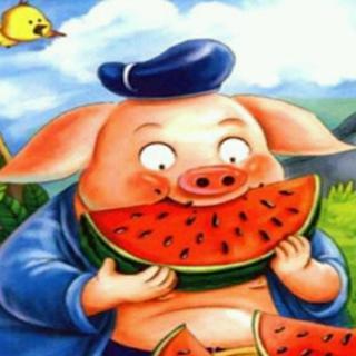 四〇一幼儿园中班宋佳明《猪八戒吃西瓜》