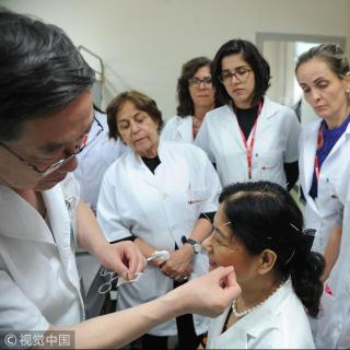 El déjà vu de un acupuntor mexicano en China