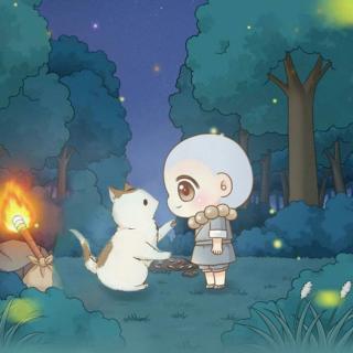 用心说   小和尚和小猫的故事