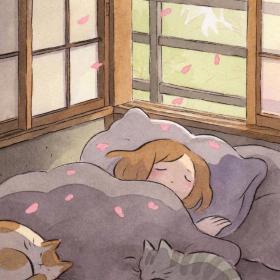 #助眠系列# 纯音乐助眠(自然&雨声版)