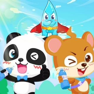 【1-2岁】爱喝水-习惯培养【·三字儿歌】图片