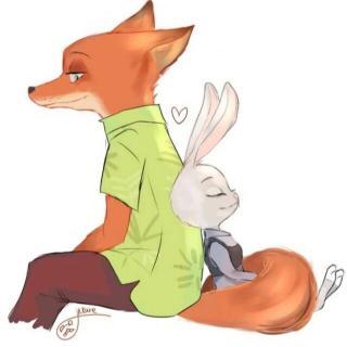 大灰狼与小白兔