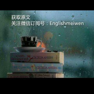 英语美文阅读