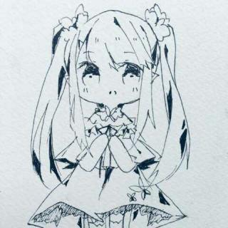 凤九简笔画手绘教程