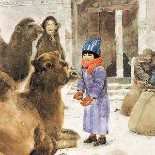 冬阳·童年·骆驼队