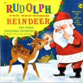 歌词本Rudolph the Red-nosed Reindeer 圣诞快乐