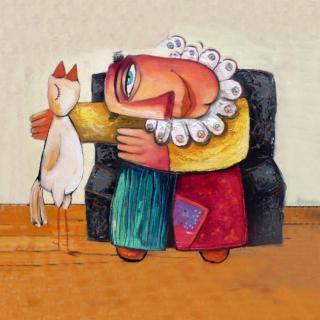 聪明的洛克系列5•母鸡和草莓