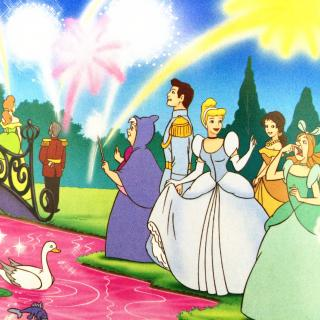 316、《花园派对》(《迪士尼小公主爱的故事全集》)