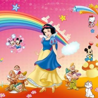 儿童睡前故事-白雪公主