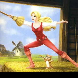 芭比公主故事系列之三剑客