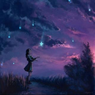 【1130缘昔说晚安】晚安,好梦,吃月亮的长颈鹿们~