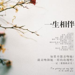 《一生相伴》—记《爱情的开关》剧情歌(释白衣:周衍照)