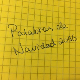 (16)parablas de Navolidad de 2016