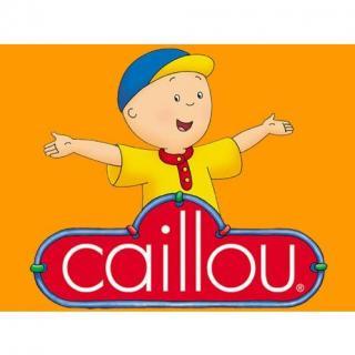 Caillou-01《卡由》英文绘本原版音频-爱弥漫英语启蒙
