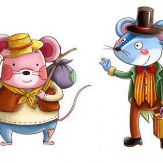 """小科阿姨讲""""城市老鼠和乡下老鼠"""""""