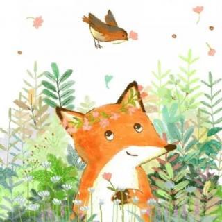 大宝宝也可以听的童话——小狐狸和大灰狼的故事