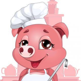 小猪学做蛋糕