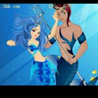 朵朵的睡前故事《人鱼公主和人鱼王子》