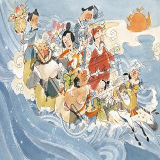 中国老故事:八仙过海