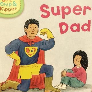 super Dad 牛津阅读树 first stories level 3
