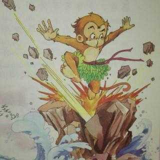 少儿版《西游记》1——美猴王出世