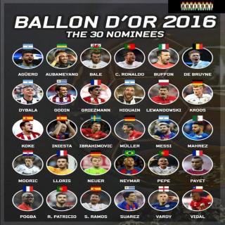 凌Lee之间Vol.8:深度解析《法国足球》金球奖30人名单