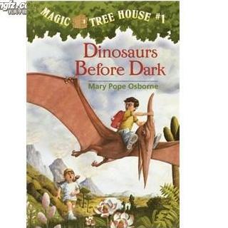 Magic tree house#1_Dinosaur before dark chapter 1