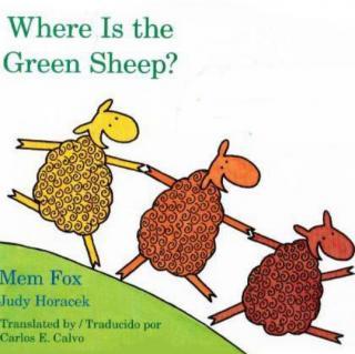 绘本之心034 - Where is the Green Sheep? 绿色的小羊在哪里?