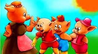儿童英文绘本故事之三只小猪