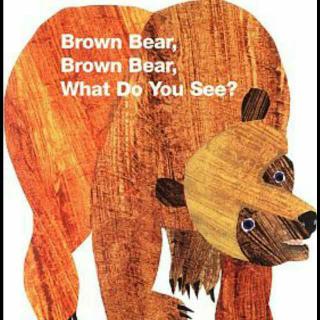 MR英文绘本阅读 Brown Bear