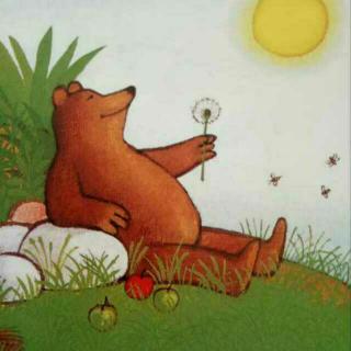 智慧宝宝故事《懒惰的小熊》