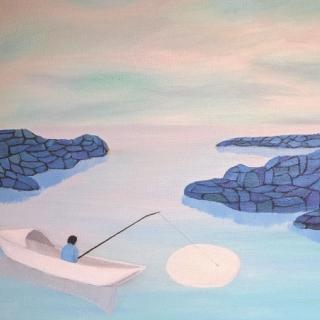 【给孩子读诗】弯弯的月儿小小的船