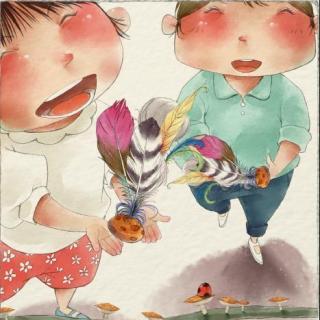 中国老游戏绘本系列-踢毽子
