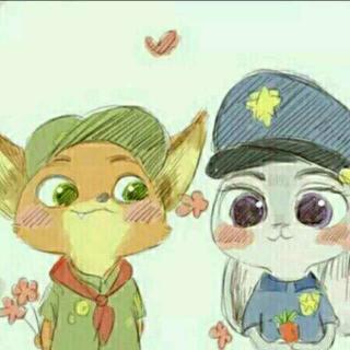 小狐狸和小兔子的故事
