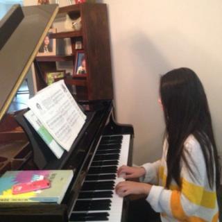 钢琴曲《天鹅》💐—Angele学奏(初一)作曲:圣.桑(法国🇫🇷)