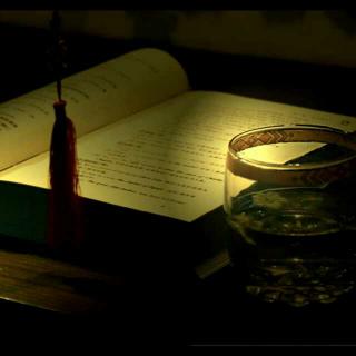 灯下的诗与心情