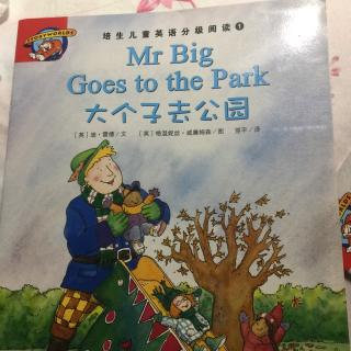 培生少儿英语Mr big goes to the park