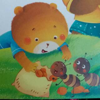 小熊的零食