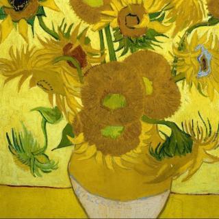梵高的向日葵为啥画那么好?因为那是画给高更的啊