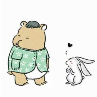 幸福,就是和你一起吃吃吃(小熊和小兔的故事)