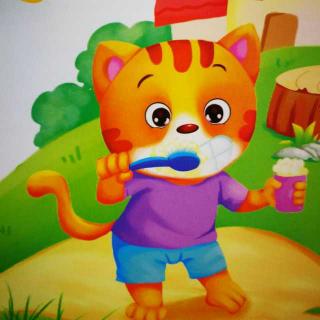 胎教故事之2.6《小猫刷牙🐱》