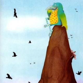 一只孤独的乌鸦