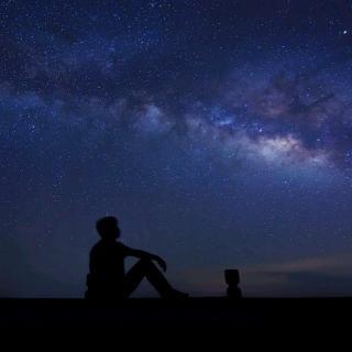 在哈尔盖仰望星空——西川