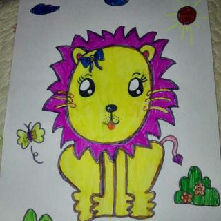 奔跑的小狮子