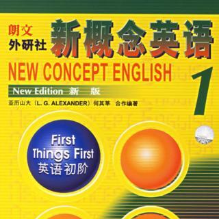 李海老師說說英語 新概念英語第1冊L1單詞讀音