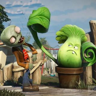 植物大战僵尸之疯狂戴夫植物班11_找东西大王磁力菇