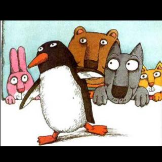 幼儿园里来了一只企鹅